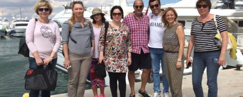Tour Operators από την Ρωσία επισκέφθηκαν Ερμιονίδα, Σπέτσες & Ύδρα