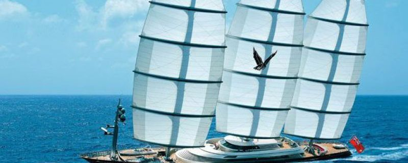 ARGO MARITIME is proud to be the shipping and customs agent in Greece for for the magnificent S/Y MALTESE FALCON!